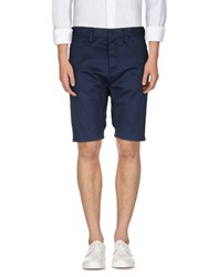 Humor Trousers Bermuda Shorts Men Dark Blue
