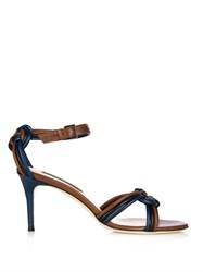 Chrissie Morris Aziliz Plaited Leather Sandals
