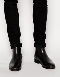 Shoe The Bear Patent Leather Chelsea Boots Black
