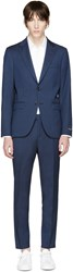 Tiger Of Sweden Navy Wool Gekko Suit