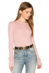 Helfrich Lily Crew Neck Sweater Pink