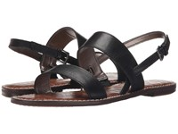 Sam Edelman Georgiana Black Vaquero Saddle Leather Women's Sandals
