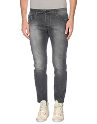 Entre Amis Men Jeans Steel Grey