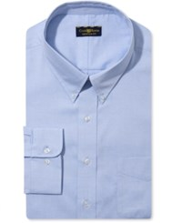 Club Room Estate Big And Tall Wrinkle Resistant Solid Dress Shirt Sky Blue