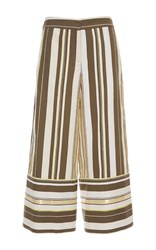 Zeus Dione Dokos Wide Leg Trousers Multi