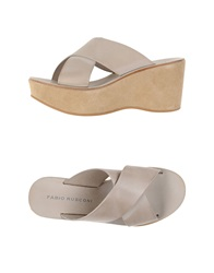 Fabio Rusconi Sandals Grey
