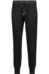 Magaschoni Silk Blend Tapered Pants Black