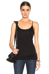 Helmut Lang Long Tank Top In Black