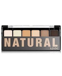 Nyx Natural Shadow Palette No Color