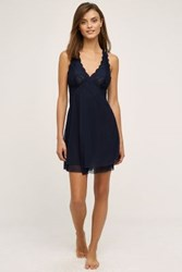 Anthropologie Clo Intimo Fortuna Chemise Navy