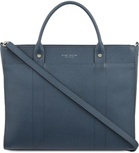 Globe Trotter Jet Small Tote Navy