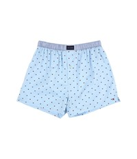 Tommy Hilfiger Woven Boxer Flag Ice Men's Underwear White