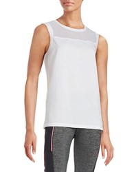 Y.A.S Loose Fit Active Tank Bright White