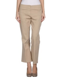 Ql2 Quelledue Casual Pants Beige