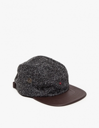 Wool Camp Hat In Charcoal
