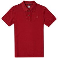 C.P. Company Classic Patch Polo Red
