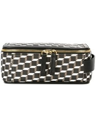 Pierre Hardy 'Perspective Cube' Wash Bag Black