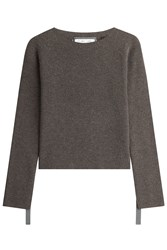 Helmut Lang Wool Pullover With Cashmere Grey