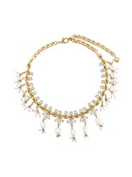 Shourouk 'Isadora' Necklace White
