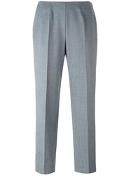 Piazza Sempione Ankle Length Trousers Grey