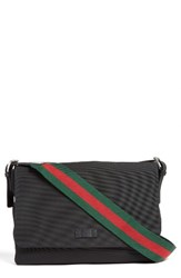 Gucci Men's Techno Canvas Messenger Bag