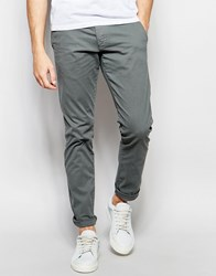 Selected Homme Chinos In Skinny Fit Washed Blue