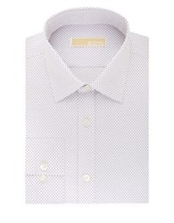 Michael Michael Kors Dot Print Dress Shirt Wisteria