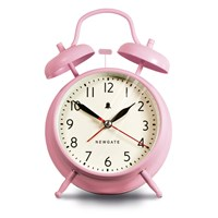 Newgate Clocks The New Covent Garden Alarm Clock Dreamy Pink
