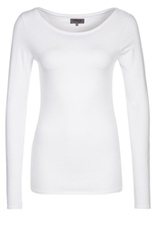 Zalando Essentials Long Sleeved Top White