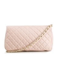 Paleari News Quilted Tote Pink And Purple