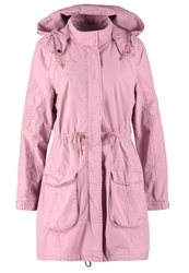 Cream Maise Parka Old Rose