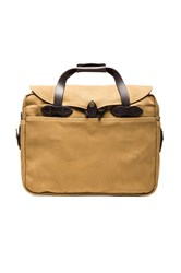 Filson Briefcase Computer Bag Tan