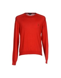 Jeckerson Knitwear Jumpers Men Red