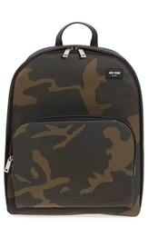 Jack Spade Men's 'Camo Utility' Waterproof Backpack