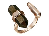 Kendra Scott Jordan Ring Rose Gold Brown Pyrite Ring