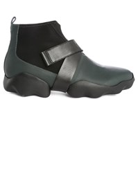Camper Black Rex Boots With Notched Sole