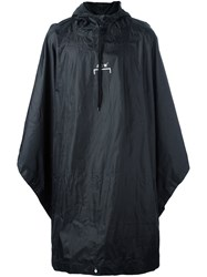 A Cold Wall Oversized Raincoat Black