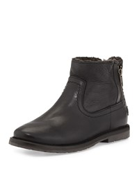 Frye Celia Fur Lined Ankle Boot Black Women's