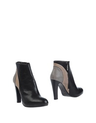 Francesco Morichetti Ankle Boots Black