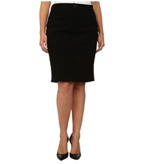 Nydj Plus Size Plus Size Dora Skirt Black Women's Skirt