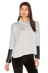Generation Love Clara Oversized Sweatshirt Gray