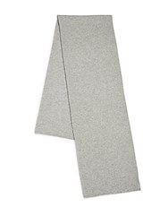 Vince Luxe Wool And Cashmere Thermal Scarf Heather Steel