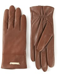 Burberry London 'Jeanny' Gloves Brown