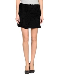 Edun Mini Skirts Black