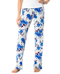 A Pea In The Pod Floral Print Maternity Pajama Pants