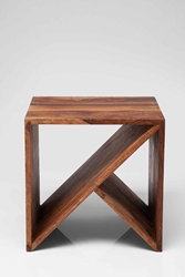 Zig Zag Cubed Side Table Urban Outfitters