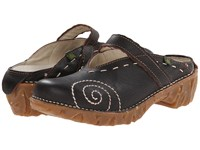 El Naturalista Yggdrasil N096 Black 2 Women's Clog Shoes