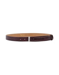 Max Mara Belts Deep Purple
