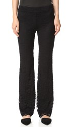 Ella Moss Trello Lace Pants Black