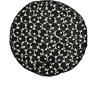 Alexander Olch Men's Dotted Cotton Lace Pocket Round Black White Blue Black White Blue